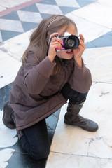l'apprentie photographe