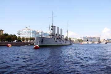Aurora - symbol of revolution in Russia