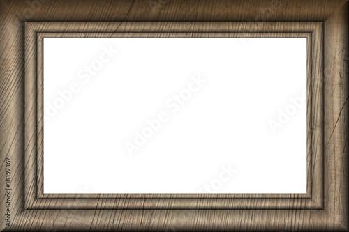 Cadre en bois rectangulaire photo libre de droits sur la banque d - Acheter cadre en ligne ...