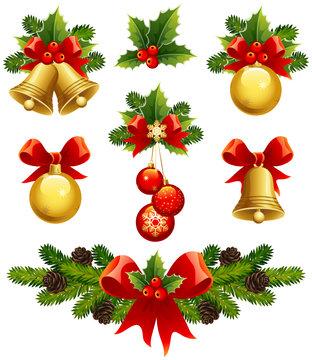christmas ornaments icons