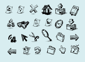 Internet Icon series.