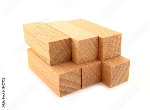 Wooden bricks