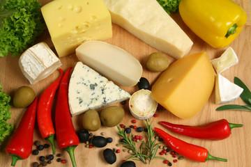 Cheese varieties