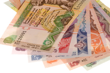 Sri Lankan Currency Isolated