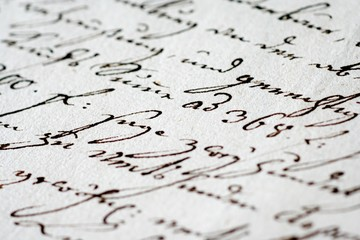 Historischer Brief - Historic Letter