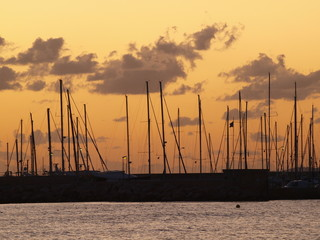 Hafen / Segelboote