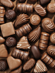 Photo sur Aluminium Confiserie Chocolates