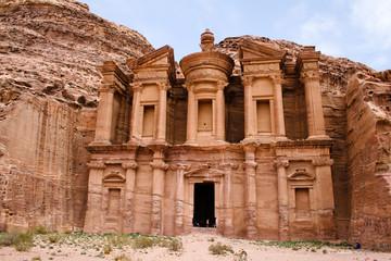 antiker Tempel in Petra, Jordanien
