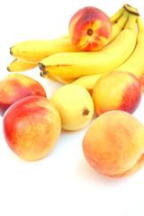 Bananas and nectarines