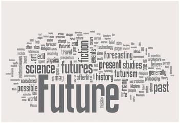 Future word cloud