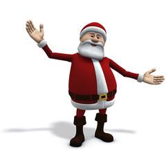 santa welcomes you