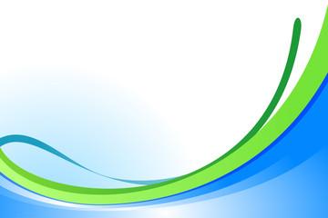 Astratto verde-azzurro