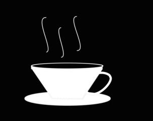 eine tasse cafe
