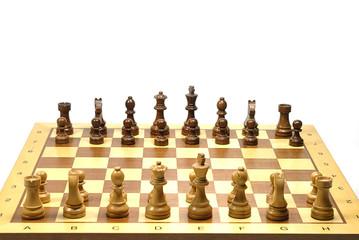Schach Grundstellung 2
