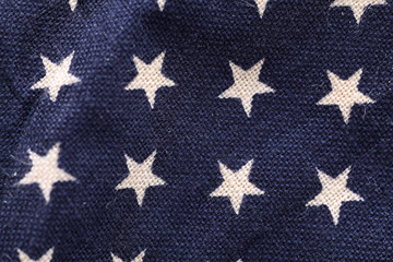 Stars on blue background