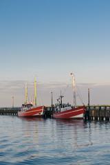 Fischkutter im Hafen