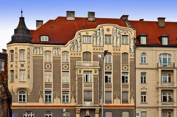 jugendstilhaus, münchen