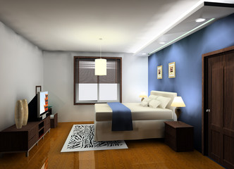 a kind of bedroom design proposal