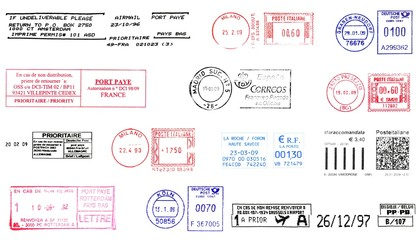 Europe rubber stamps