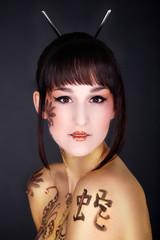 Golden Asia Bodypainting 02
