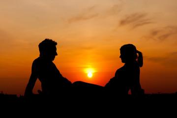 sunset couple1