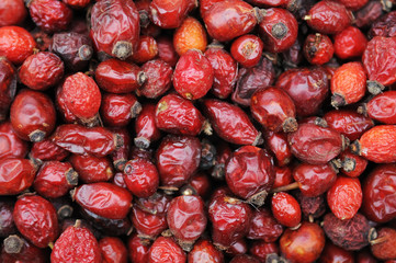 red dried hips