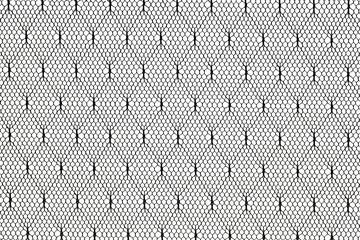 black lace fabric pattern