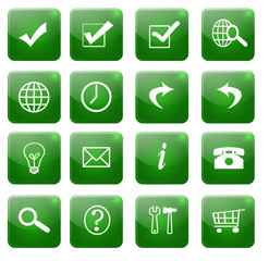 Web icons, buttons vol3 - fototapety na wymiar