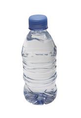 Plastic bottle of clean water