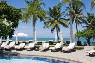 Beach on a sunny day. Thailand.