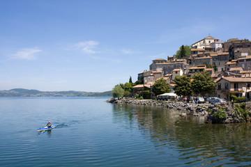 Canoe Sul Lago Di Bracciano - Anguillara Sabazia, Lazio, Italia