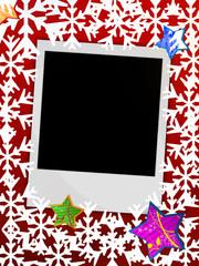 Weihnachten Foto Karte