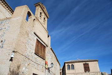Une église en pierre dans Tolède