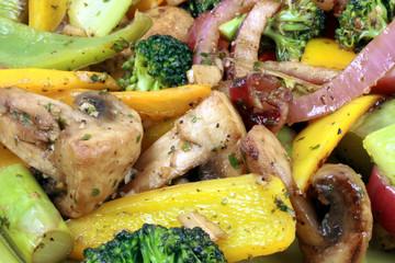Healthy organic  salad