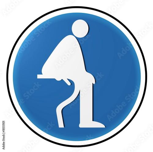 bitte auf die toilette setzen stockfotos und lizenzfreie bilder auf bild 18551101. Black Bedroom Furniture Sets. Home Design Ideas