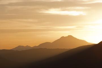 moutain range landscape