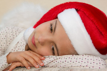 petit ange de Noël posé