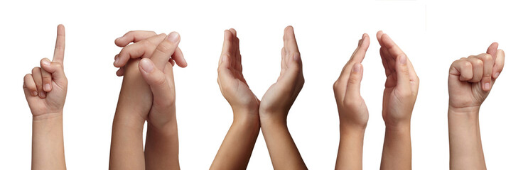 hand gesture body language