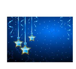 winter background star