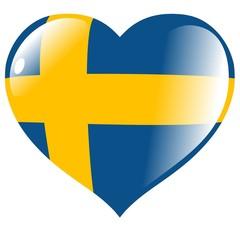 Sweden in heart