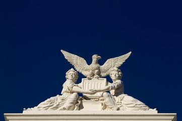 California State Capitol women sculpture