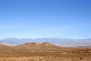 Mountain in the desert of south-east Morocco