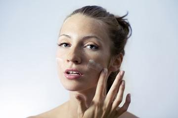 Creaming face