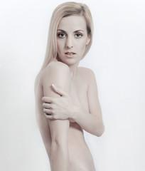 Beauty Make Up und Nude Look