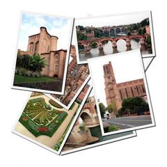 Postales de Albi, ciudad rural al sur de Francia