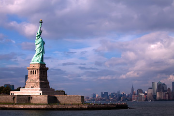 Famous Statue of Liberty