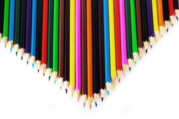pencils v shape