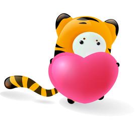 tiger in love