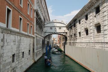 Fototapeta Most westchnień w Wenecji obraz