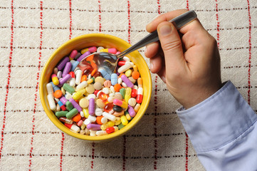 Bowl with Pills